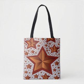 estrellas bolso de tela