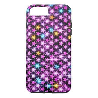 estrellas brillantes hermosas funda para iPhone 8 plus/7 plus