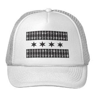 Estrellas de Chicago Gorros Bordados