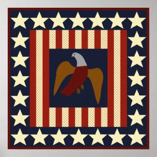 Estrellas de la era de la guerra civil y poster