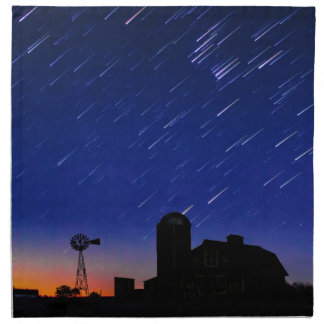Estrellas de la granja servilleta de tela