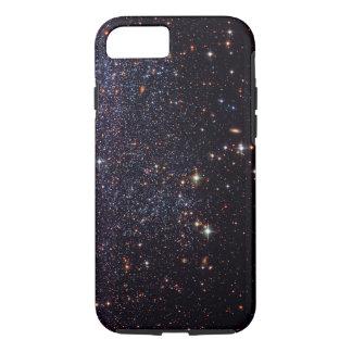 Estrellas de la nebulosa del friki del espacio funda iPhone 7