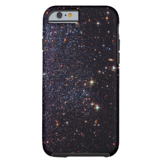 Estrellas de la nebulosa del friki del espacio funda resistente iPhone 6