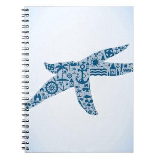 Estrellas de mar cuaderno
