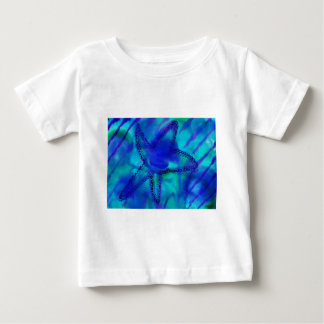 Estrellas de mar de la turquesa camisetas