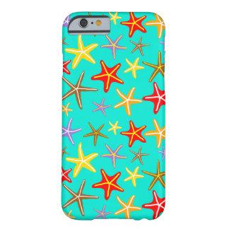 Estrellas de mar en el diseño del mar funda barely there iPhone 6