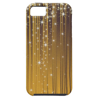 Estrellas de oro iPhone 5 cobertura