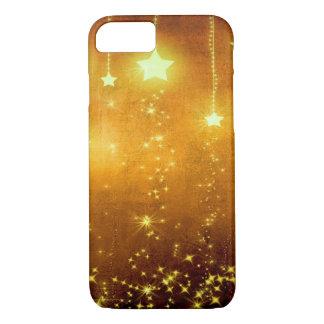 Estrellas de oro funda iPhone 7