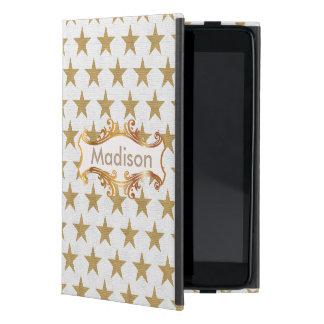 Estrellas de oro iPad mini carcasas