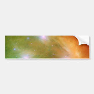 Estrellas de Pleiades en SSC2007 infrarrojo 07A Pegatina Para Coche