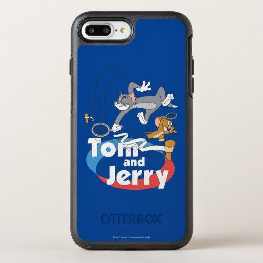 Estrellas de tenis de Tom y Jerry 7 Funda OtterBox Symmetry Para iPhone 7 Plus