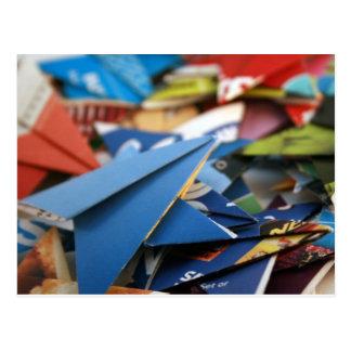 Estrellas de Upcycled Origami Postal