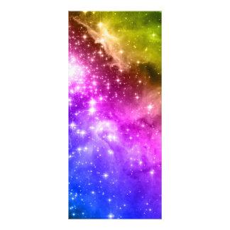 Estrellas del arco iris lonas personalizadas