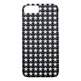 estrellas del blanco en negro funda iPhone 7