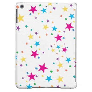 Estrellas del fiesta funda iPad air