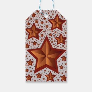 estrellas etiquetas para regalos