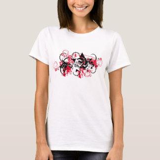 estrellas florales del grunge camiseta