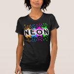 ESTRELLAS RETRAS del NEÓN de los años 80 del TIGRE Camiseta