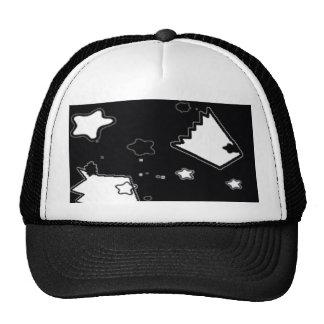 Estrellas y coronas gorras