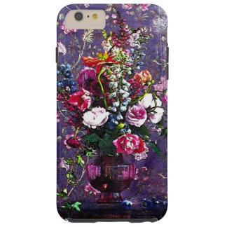 ~ estropeado iPhone6/6s de las flores más el caso Funda Para iPhone 6 Plus Tough