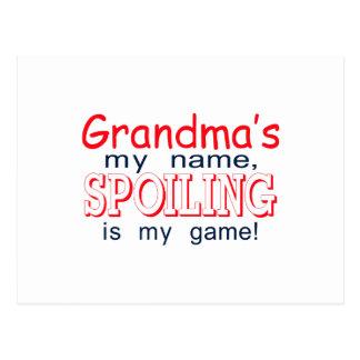 Estropeo de la abuela postal