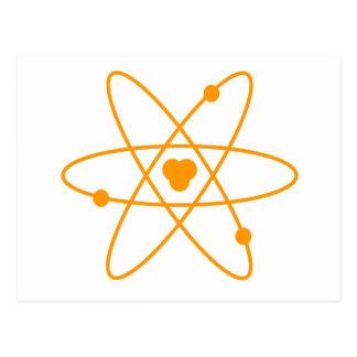 Estructura anaranjada del átomo postal