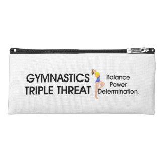 Estuche Amenaza SUPERIOR del triple de la gimnasia