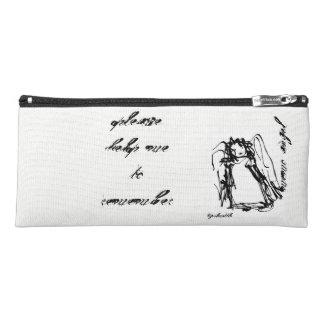 "Estuche ""Caja de lápiz del ángel de la nota"""