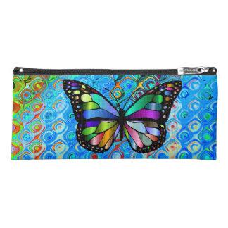 Estuche Caja de lápiz: Diseño de la mariposa