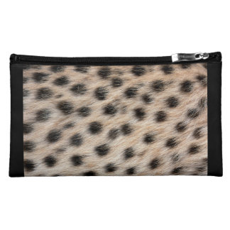 Estuche De Maquillaje De Ante Impresión del guepardo