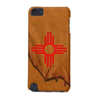 Estuche rígido de iPod del símbolo de Zia Sun
