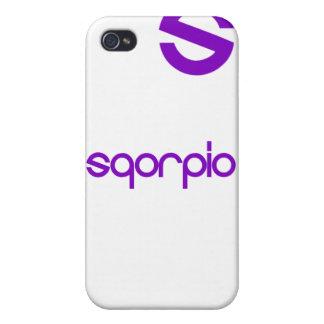 Estuche rígido oficial del iPhone de Sqorpio iPhone 4/4S Carcasas