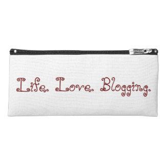 Estuche Vida. Amor. El Blogging. Caja de lápiz