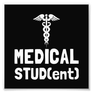 Estudiante de medicina foto