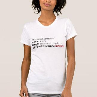 Estudiante de postgrado camisetas