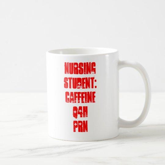 Estudiante del oficio de enfermera: Cafeína Q4H Taza De Café