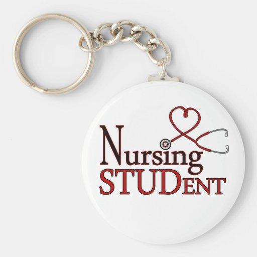 Estudiante del oficio de enfermera llaveros