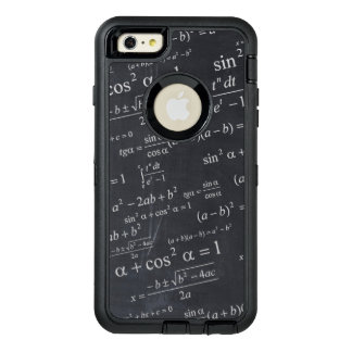 Estudiante divertido del profesor del friki de la funda otterbox para iPhone 6/6s plus