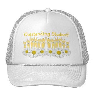 Estudiante excepcional - la margarita florece gorr gorra