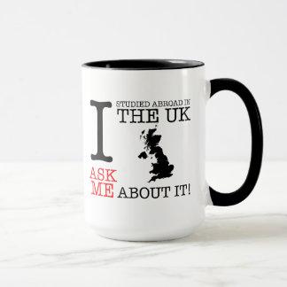¡Estudié en el extranjero en la taza BRITÁNICA!