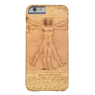 Estudio de la anatomía de Leonardo da Vinci del Funda De iPhone 6 Barely There