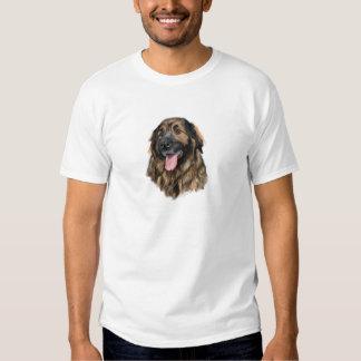Estudio de la cabeza de Leonberger Camiseta
