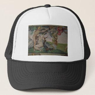 Estudio de Miguel Ángel en el gorra
