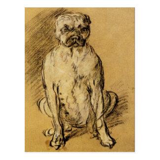 Estudio de un dogo de Thomas Gainsborough Postal