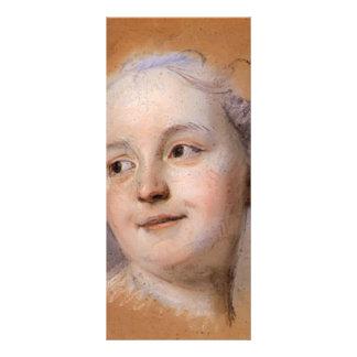 Estudio para el retrato de la mujer por viaje del plantilla de lona