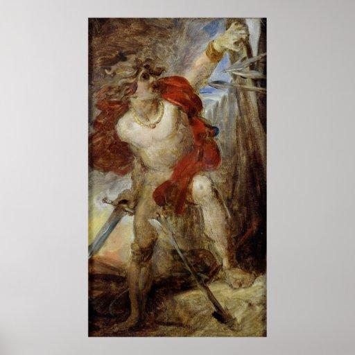 Estudio para el valor Gaulish, c.1830-32 Posters