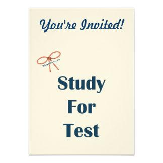 Estudio para los recordatorios de la prueba comunicado personalizado