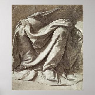 Estudio para una figura asentada, c.1475-80 de la  póster