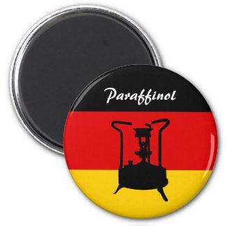 Estufa alemana de la presión de la bandera el | Pa Imán Redondo 5 Cm