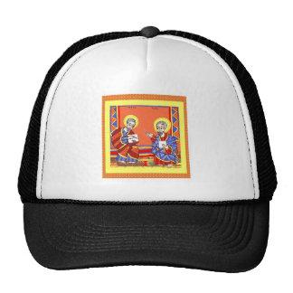 Etíope-Biblia-Santo-Lucas-Santo-Juan Gorros